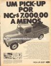 Propaganda Willys Overland Pick-Up Jeep / Ford F-75 1970 (01)