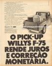 Propaganda Willys Overland Pick-Up Jeep / Ford F-75 1970 (07)