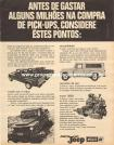 Propaganda Willys Overland Pick-Up Jeep 1968 (02)