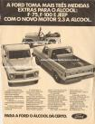 Propaganda Willys Overland / Ford Jeep Álcool 1980